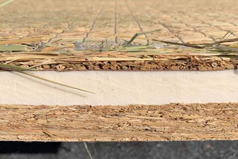 稲わらサンドウィッチ畳床